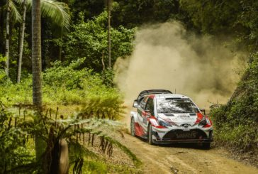 WRC – Toyota Yaris WRC drivers show their speed on first day of Rally Australia