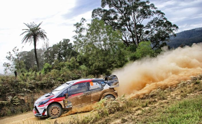 WRC – Toyota Yaris WRC drivers move up the order in Australia