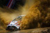 WRC – Strong performance of Toyota Yaris WRC goes unrewarded in Australia