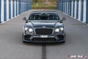 Essai – Bentley Continental Supersports