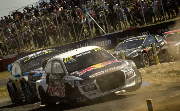 EKS Audi Sport to attack in World RX with Bakkerud and Ekström
