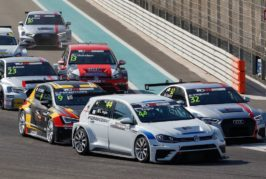 TCR Middle East resumes after a five-day break