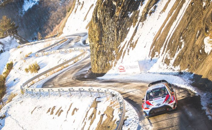 Yaris WRC's second season begins with mighty Monte challenge