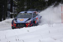 WRC – Thierry Neuville tout schuss sur la neige suédoise