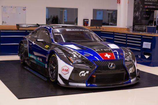 Emil Frey Lexus Racing gibt Rennprogramm für 2018 bekannt