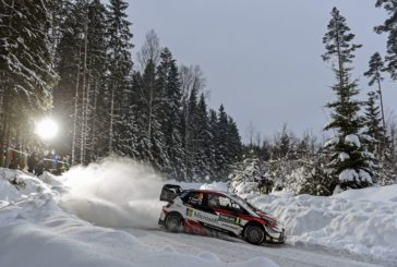 The Yaris WRC finishes with a flourish in Sweden