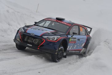 Jari Huttunen and Antti Linnaketo finished sixth in WRC2 in Rally Sweden