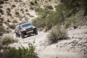 Dakar 2018 - Eugenie Decre Jerome Pelichet - team RaidLynx - Toyota overdrive Dakar #330