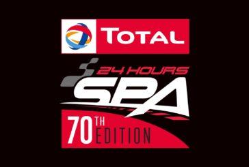 Lancement de la 70ème édition des Total 24 Hours of Spa et… de son nouveau logo !