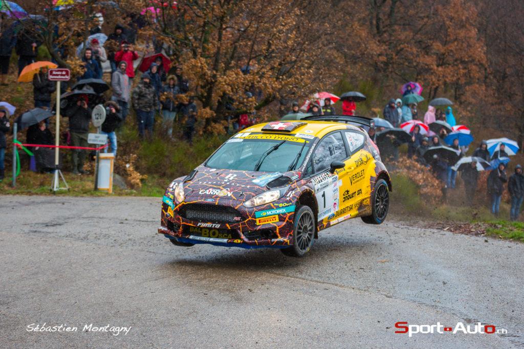 Sébastien Carron - Jérôme Degout / Ford Fiesta R 5 - Rallye du Pays du Gier 2018
