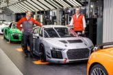 Fully integrated: 50th Audi R8 LMS GT4 produced at Böllinger Höfe