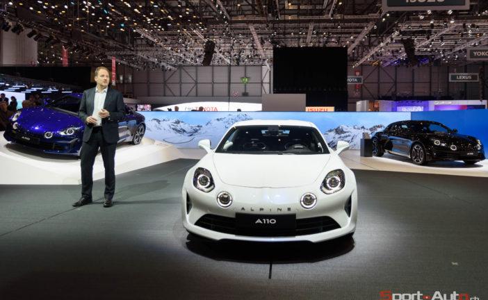 Alpine A110 Pure & Légende – Présentation à Genève