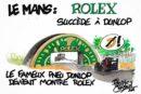 24h du Mans – La passerelle Dunlop rebatisée Rolex