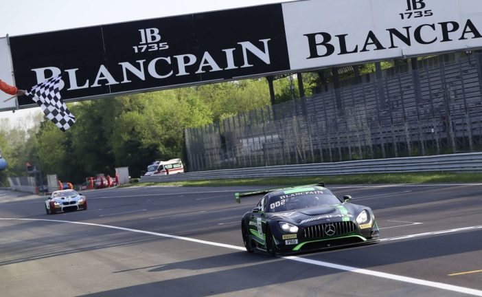 A double podium for Mercedes-AMG Motorsport in the first Blancpain GT Series Endurance Cup round