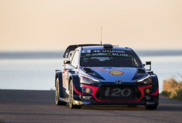 Hyundai Motorsport continues to fight for a podium position in Tour de Corse