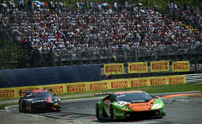 Classified fourth, GRT Grasser Racing Team just misses out on podium finish. A clear disadvantage caused by the organiser at Monza (I)