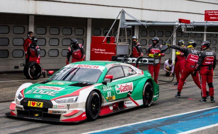 DTM-Neuling Frijns beeindruckt im Audi RS 5 DTM