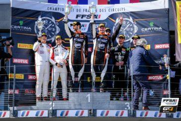 FFSA GT – La première victoire pour Consani et Lariche