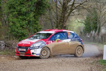 Rallye Terre des Causses : performances remarquées de Nicolas Lathion – Yannick Schriber en 208 Rally Cup