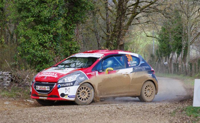 Rallye Terre des Causses : performances remarquées de Nicolas Lathion – Yannick Schriber en 208 Rally Cup