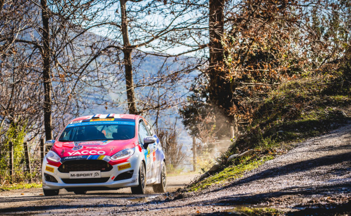 WRC Junior – Franceschi wins at home