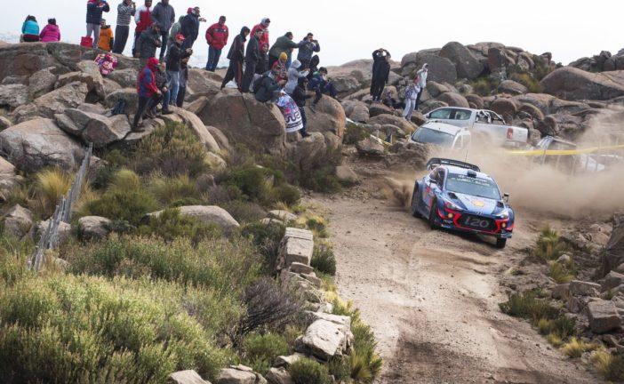 Doppelter Podiumsjubel für Hyundai bei Rallye-Lauf in Argentinien