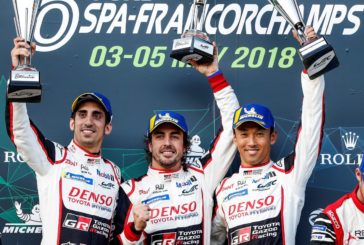 FIA WEC – Alonso-Buemi-Nakajima victorieux à Spa