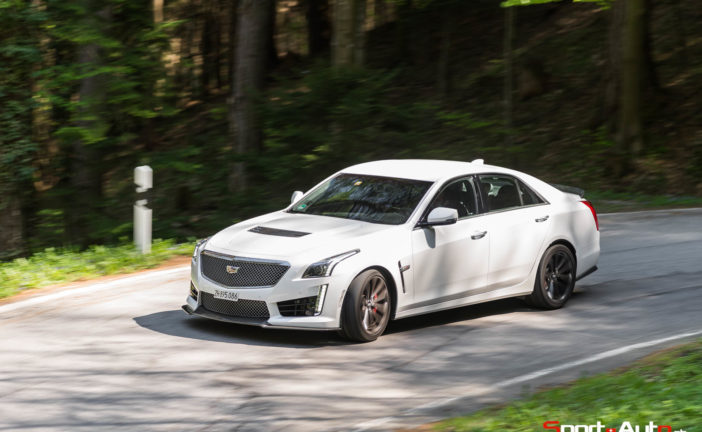 Essai – Cadillac CTS-V