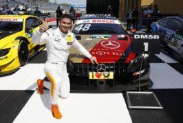 DTM – Edoardo Mortara s'impose au Lausitzring, week-end à oublier pour Nico Müller