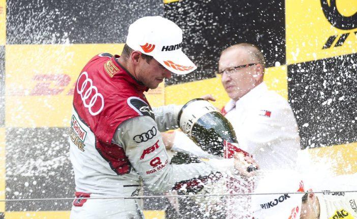 Nico Müller holt Podium für Audi