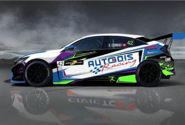TCR – Stefano Comini de retour en piste sur une Honda Civic