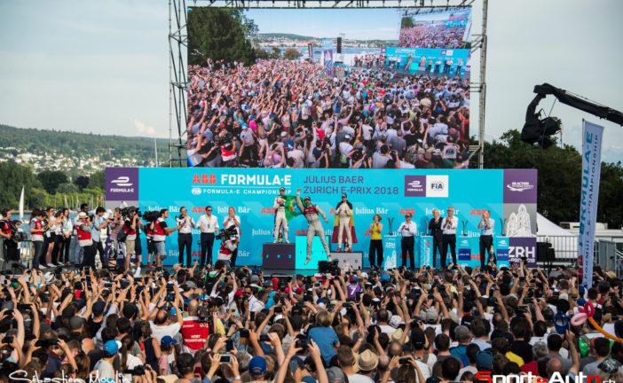 Formula E – ePrix de Zurich : Lucas di Grassi s'impose devant la foule des grands jours