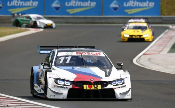 DTM – Unverhoffter BMW-Dreifacherfolg in Budapest