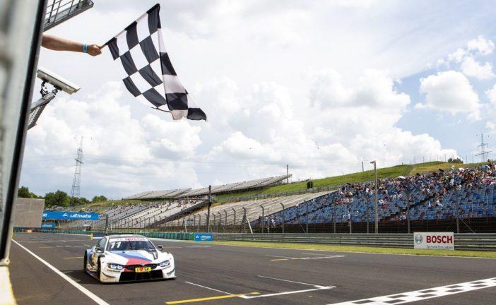 BMW Dreifachsieg in ereignisreichem Sonntagsrennen auf dem Hungaroring