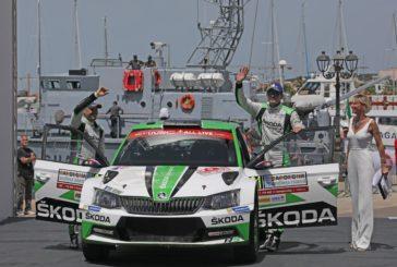 WRC – Double for Škoda in WRC 2 – Jan Kopecký wins ahead of teammate O.C. Veiby