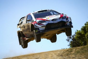 WRC – Toyota Gazoo Racing still holding third in Sardinia