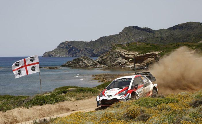 WRC – Lappi and Toyota Gazoo Racing on the podium in Sardinia