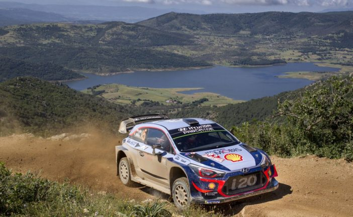 WRC – Hyundai Motorsport is firmly in the hunt for a third victory