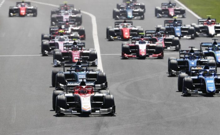 FIA Formula 2 –  Albon beats Ghiotto to Budapest Sprint Race victory