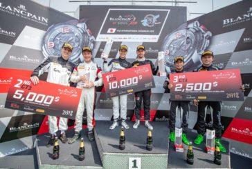 Blancpain GT Asia – Patric Niederhauser s'impose et prend les reines du championnat