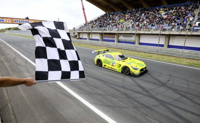 Championship lead and podium for the Mercedes-AMG GT3 in ADAC GT Masters
