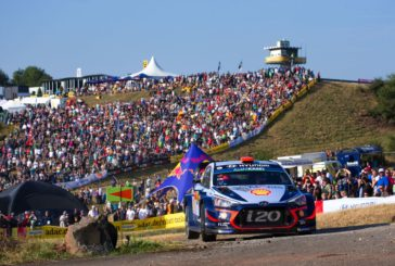 WRC – Dani Sordo claimed three stage wins to move up to second overall
