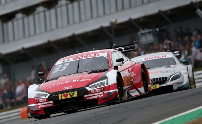 René Rast takes yet another DTM podium for Audi