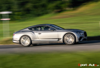 Essai – Bentley New Continental GT