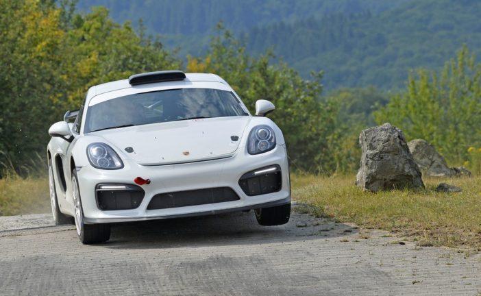 Porsche setzt Cayman GT4 Clubsport als Vorausfahrzeug ein