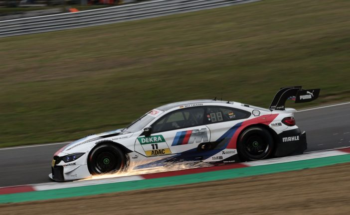 Marco Wittmann and Philipp Eng in the points for BMW M Motorsport in Sunday's DTM race at Brands Hatch
