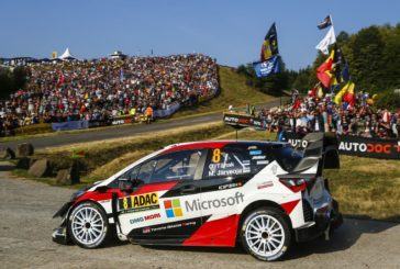 WRC – Ott Tänak on course for victory at the ADAC Rallye Deutschland
