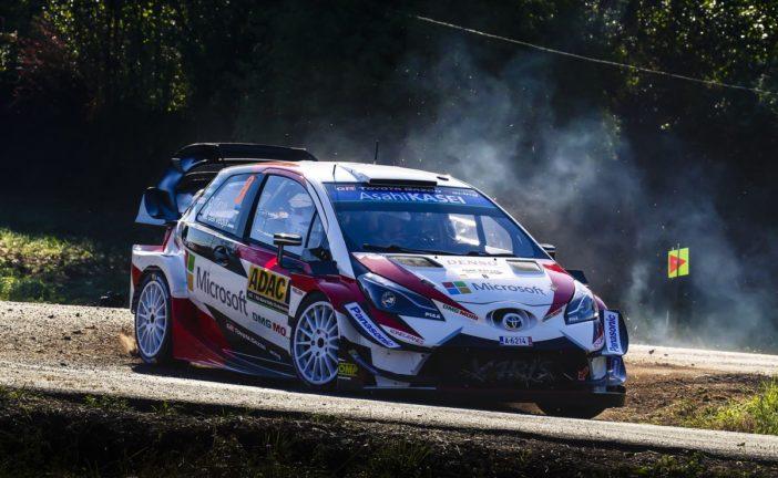 WRC – Führung für Ott Tänak bei der ADAC Rallye Deutschland 2018