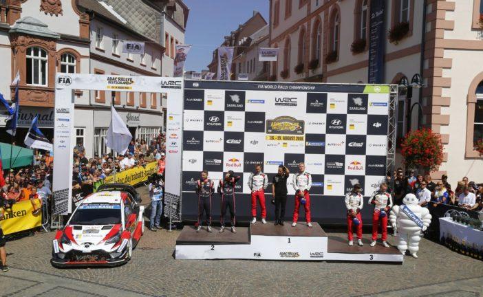 WRC – Ott Tänak wins the ADAC Rallye Deutschland for the second year in a row