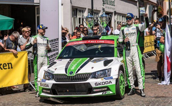 WRC – Double victory in WRC 2 for Škoda – Jan Kopecký takes championship lead